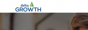 Delta Growth logo from Home Page